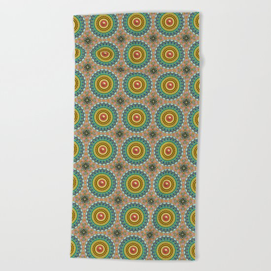 Panoply Pattern Beach Towel