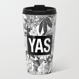 YAS B&W Travel Mug