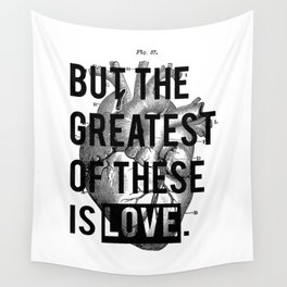 Heart. Wall Tapestry