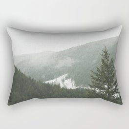 Valley of Trees Rectangular Pillow