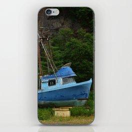 Stranded in Seldovia iPhone Skin