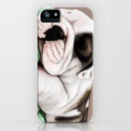Sleeping Puppy iPhone Case