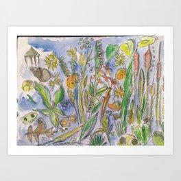 Pondlife Art Print
