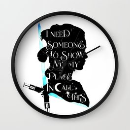 rey - sabre Wall Clock