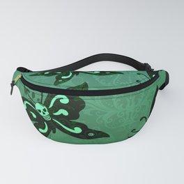'Skullerflies in the Garden' Fanny Pack