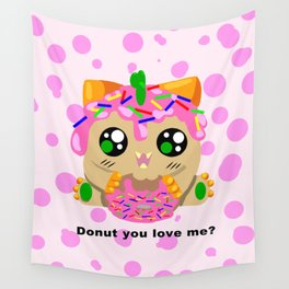 Donut you love me? Wall Tapestry