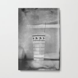In-N-Out Classic Cup Metal Print
