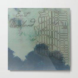 Portland Neighborhood, East Moreland Metal Print