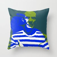 picasso Throw Pillows featuring Picasso by Art Pop Store