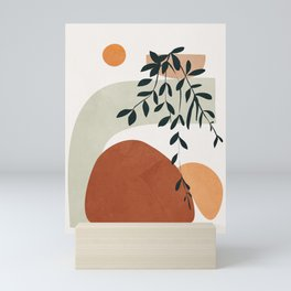 Soft Shapes I Mini Art Print