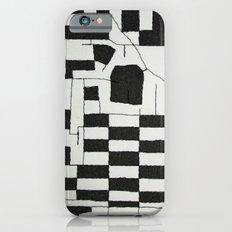 Black & White Map Slim Case iPhone 6s