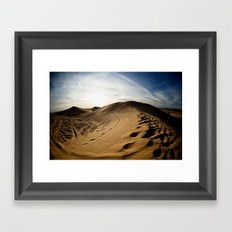 Clothes of Sand Framed Art Print