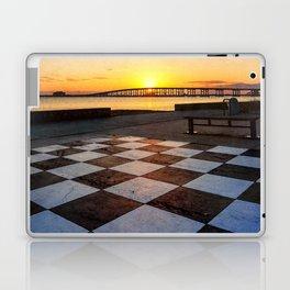 Checkerboard Sunset Laptop & iPad Skin
