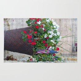 Flowers & Flags Rug