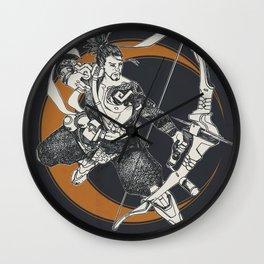 Hanzo - Moon Wall Clock