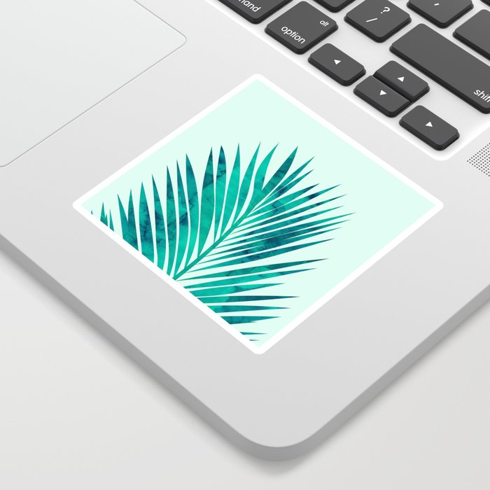 Composition tropical leaves XV Sticker