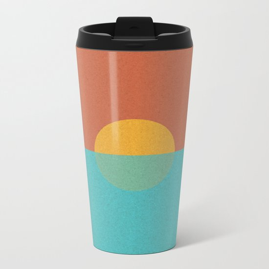 MINIMALIST_sundown Metal Travel Mug