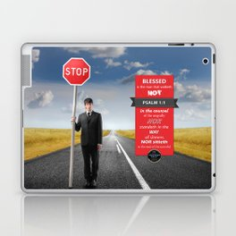 Psalm 1:1 Laptop & iPad Skin
