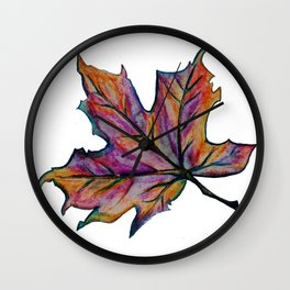 The Fall Season Wall Clock