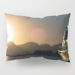 Sunset on La Paz, Mexico Pillow Sham