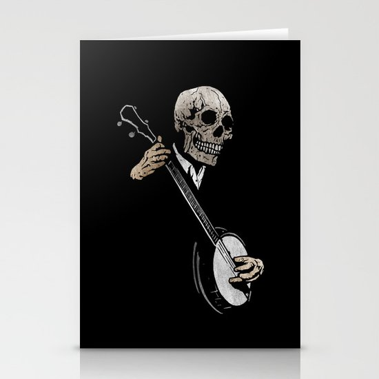 Skullboys' Banjo Blues Stationery Cards