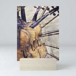 Classic Violins Mini Art Print