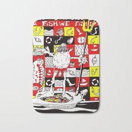 i love fish.2 Bath Mat