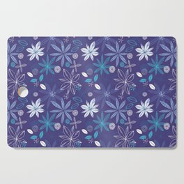 Blue Summer Cutting Board