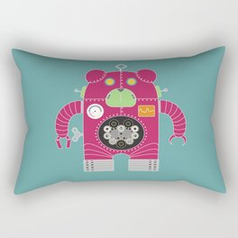 Robot V-20 Rectangular Pillow
