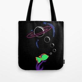Sea Space Tote Bag
