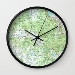 OR Klamath Falls 283330 1955 Topographic Map Wall Clock