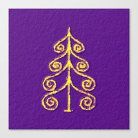christmas tree Canvas Prints featuring Christmas Tree* by Mr and Mrs Quirynen