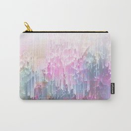 Magical Nature - Glitch Pink & Blue Carry-All Pouch