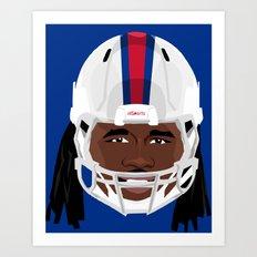 Faces-Bills Art Print