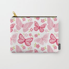 Beautiful Modern Butterfly Pattern Carry-All Pouch