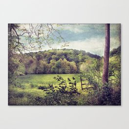 She Told Me Her Sorrows Canvas Print