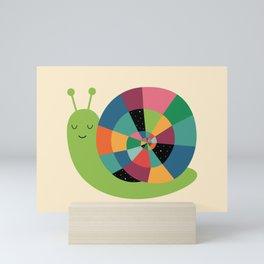 Snail Time Mini Art Print