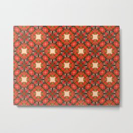 Flower pattern no.7 Metal Print