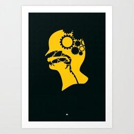 Brianstorm Art Print