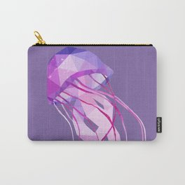 Low Poly Pelagia Noctiluca Jelly Fish. Carry-All Pouch