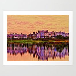 Imagine (Digital Art) Art Print
