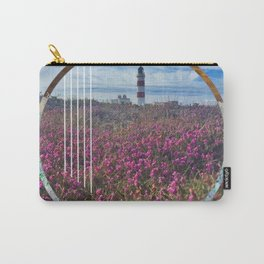 Lighthouse - circle graphic Carry-All Pouch