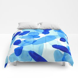 Beach Glass Blue Comforters