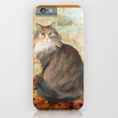 Maine coon cat iPhone 6s Slim Case