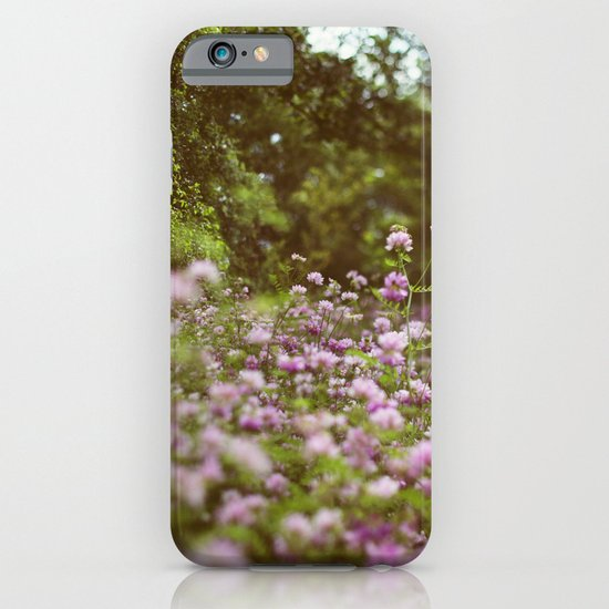 Among the Wildflowers iPhone & iPod Case