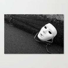 The Mask We Hide Behind VI Canvas Print