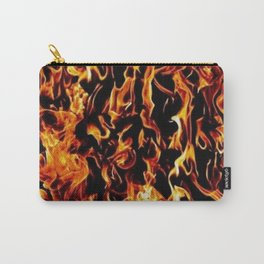 fire pattern Carry-All Pouch