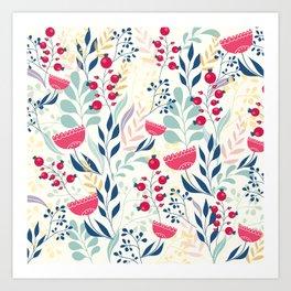 Floral Beauty Art Print