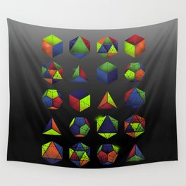 Sacred Shapes & Colors Wall Tapestry