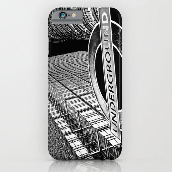Canary Wharf  Art iPhone & iPod Case